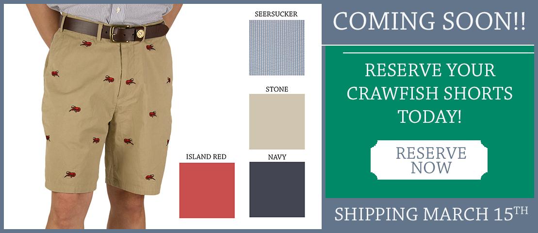 Crawfish Shorts