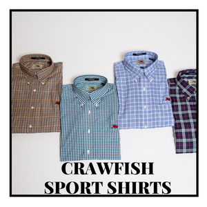 Crawfish Sport Shirts